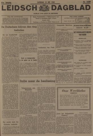 Leidsch Dagblad 1940-05-25