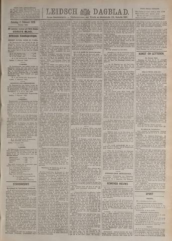 Leidsch Dagblad 1920-02-07