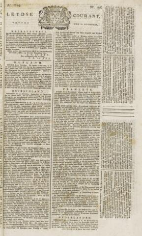 Leydse Courant 1819-11-12