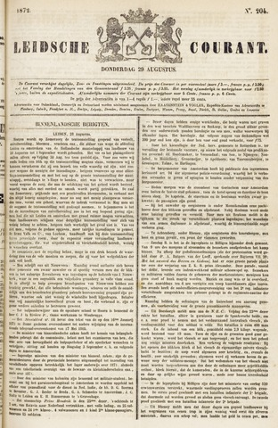 Leydse Courant 1872-08-29