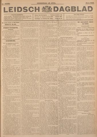 Leidsch Dagblad 1926-04-29