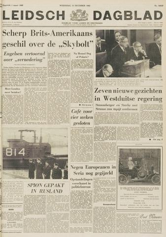 Leidsch Dagblad 1962-12-12