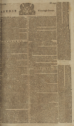 Leydse Courant 1754-11-20