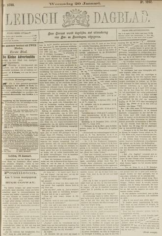 Leidsch Dagblad 1892-01-20