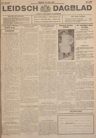 Leidsch Dagblad 1930-07-11