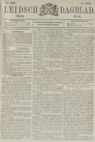 Leidsch Dagblad 1878-07-30