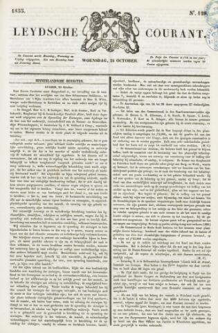 Leydse Courant 1855-10-24