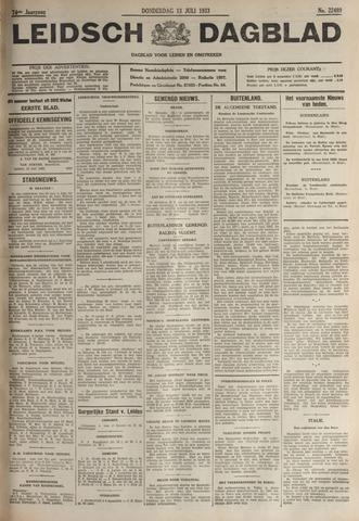 Leidsch Dagblad 1933-07-13