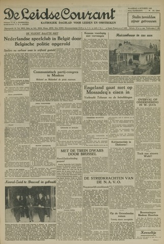 Leidse Courant 1952-10-06