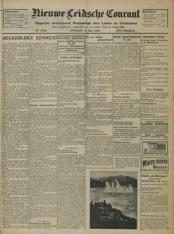 Nieuwe Leidsche Courant 1939-07-15