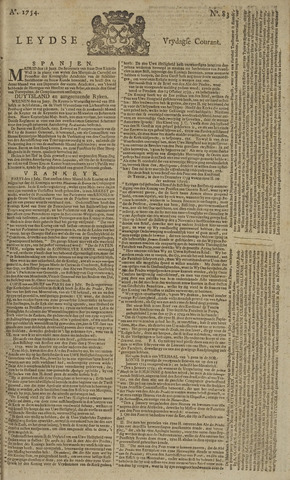 Leydse Courant 1754-07-12