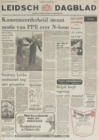 Leidsch Dagblad 1978-10-20