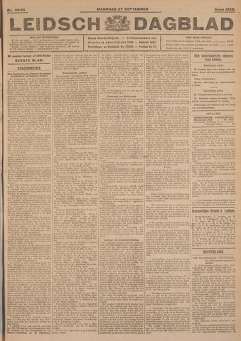 Leidsch Dagblad 1926-09-27