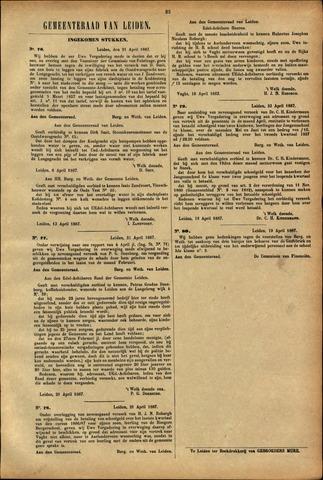 Handelingen van de Raad 1887-04-21