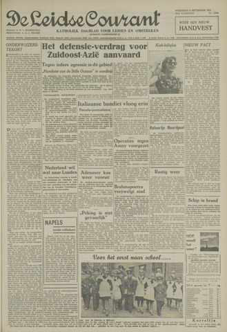Leidse Courant 1954-09-08