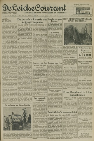 Leidse Courant 1952-11-15