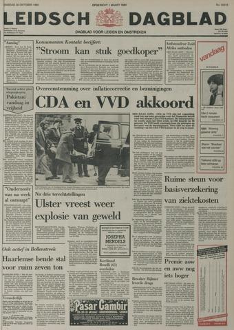 Leidsch Dagblad 1982-10-26