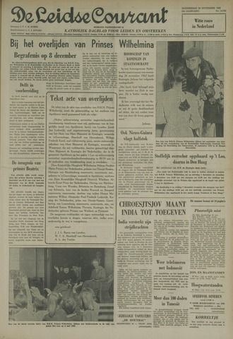 Leidse Courant 1962-11-29