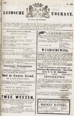 Leydse Courant 1877-10-22