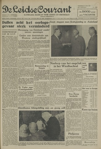 Leidse Courant 1955-07-27