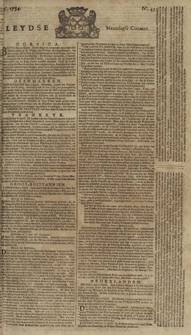 Leydse Courant 1754-04-15