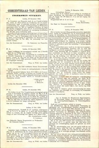 Handelingen van de Raad 1913-01-18