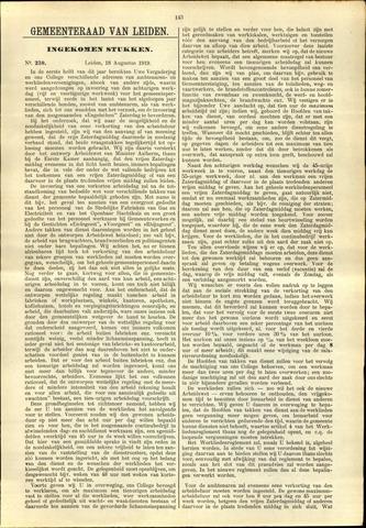 Handelingen van de Raad 1919-08-18