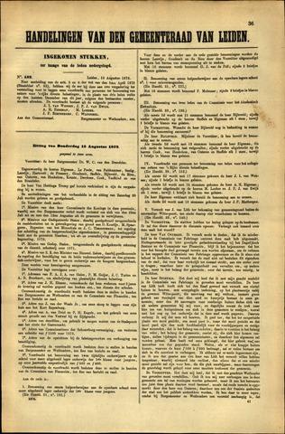 Handelingen van de Raad 1872-08-12