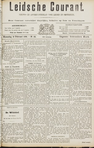 Leydse Courant 1890-02-19