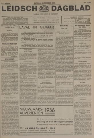 Leidsch Dagblad 1935-12-28