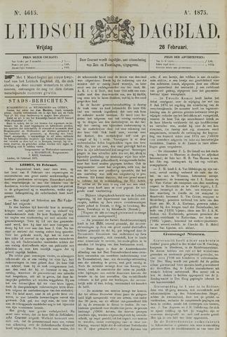 Leidsch Dagblad 1875-02-26