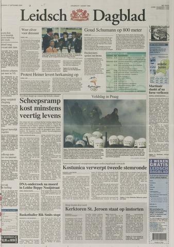 Leidsch Dagblad 2000-09-27