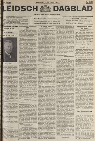 Leidsch Dagblad 1933-12-20