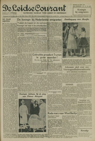 Leidse Courant 1952-04-25