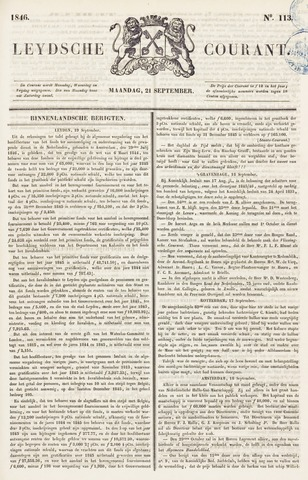 Leydse Courant 1846-09-21