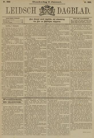 Leidsch Dagblad 1890-01-09