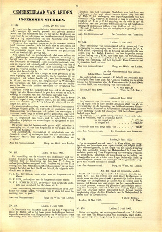 Handelingen van de Raad 1903-05-29