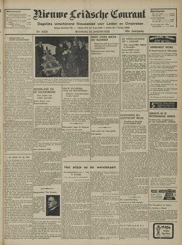 Nieuwe Leidsche Courant 1938-01-24