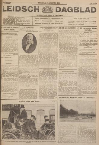 Leidsch Dagblad 1930-08-02