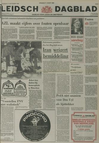 Leidsch Dagblad 1980-09-27