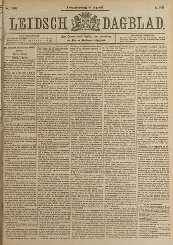 Leidsch Dagblad 1899-04-06