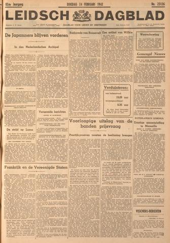 Leidsch Dagblad 1942-02-24