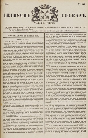 Leydse Courant 1884-08-22