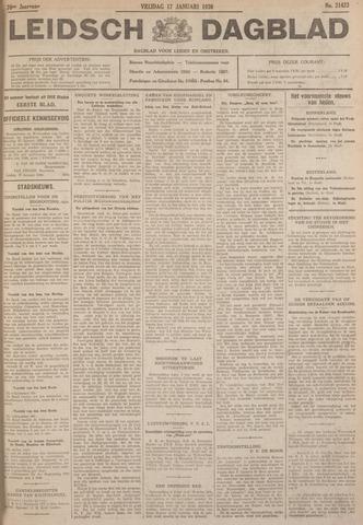 Leidsch Dagblad 1930-01-17