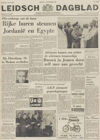 Leidsch Dagblad 1967-09-01