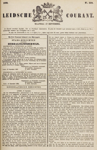 Leydse Courant 1883-09-17