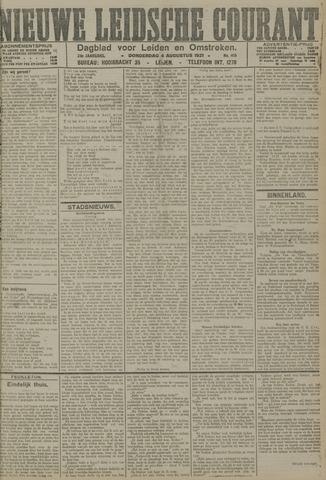 Nieuwe Leidsche Courant 1921-08-04