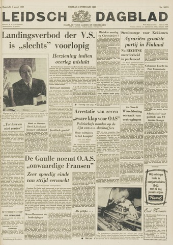 Leidsch Dagblad 1962-02-06
