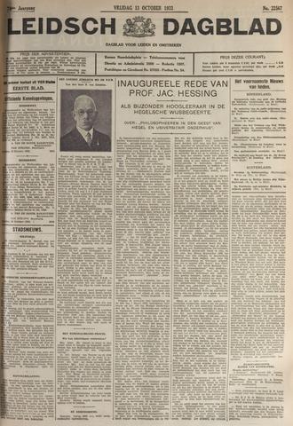 Leidsch Dagblad 1933-10-13