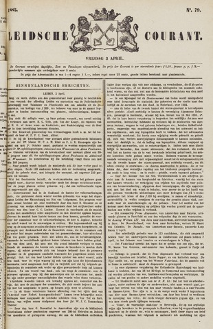 Leydse Courant 1885-04-03